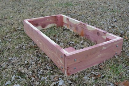 Raised Garden Beds Cedar Garden Beds Garden Planter Etsy throughout 19+ How to Build Raised Garden Beds
