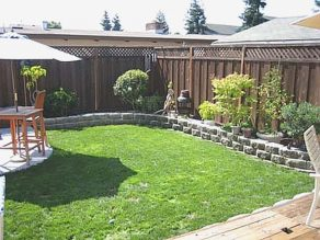 Small Patio Play Area Cheap Backyard Landscaping Ideas For within ucwords]