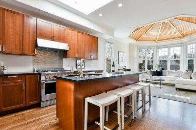 This South End Penthouse Includes A Domed Ceiling In The within ucwords]