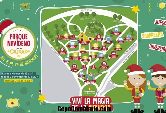 Esta quinta edición se muda a Palermo, en Av. Del Libertador y Sarmiento. Del 8 hasta el 24 de diciembre habrá numerosas actividades gratuitas para que disfruten los vecinos.