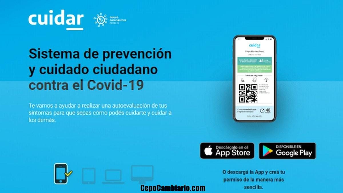 Lanzan CuidAR, la nueva app que permite realizar un autotest de Covid-19
