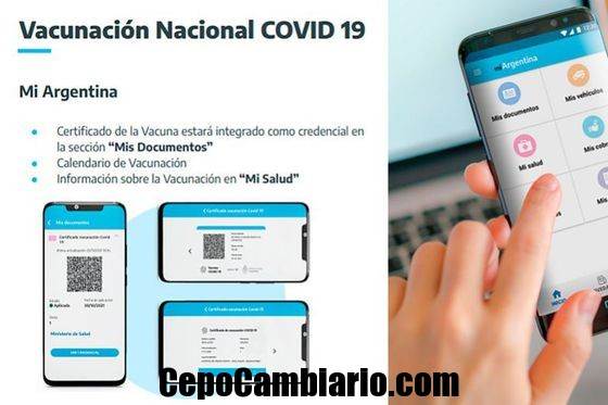 El App Mi Argentina será el documento oficial de vacunación como Pasaporte Covid en viajes al exterior