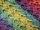 Unforgettable Crochet Scarf Diagonal Stripe - Cera Boutique