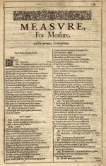 Measure for Measure Title Page
