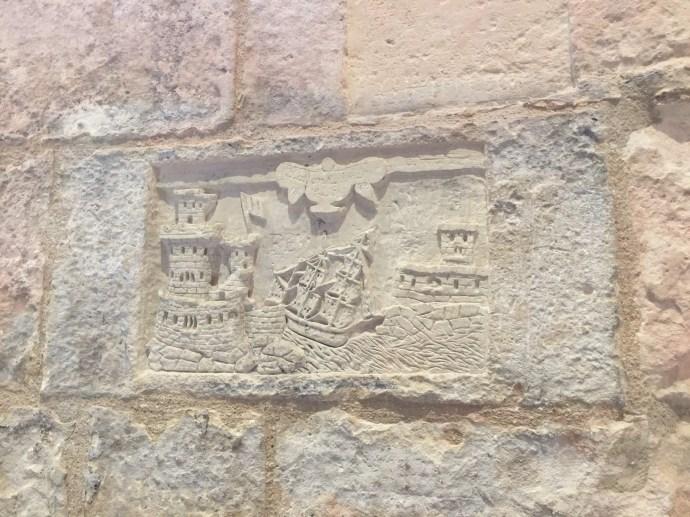 Laterne Tower Graffiti
