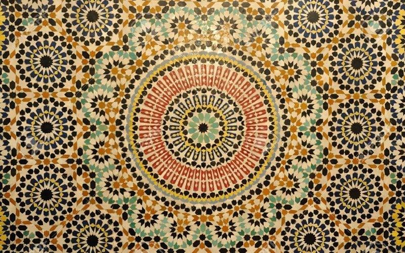 creating handmade moroccan mosaic tiles