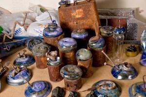 reciclaje obra de cerámica fango