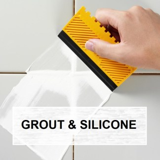 ADHESIVE, GROUT & SILICONE