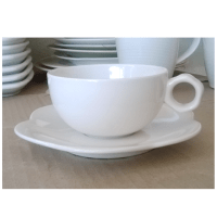 White Cup 200cc Porcelain sets