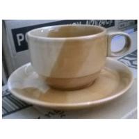 แก้วกาแฟสีน้ำตาล