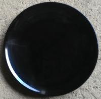 จานใบบัว 10.5 นิ้ว สีดำ-สโตนแวร์