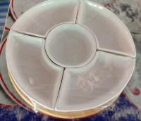 ชุดออเดิร์ฟ 11 นิ้ว สีขาว