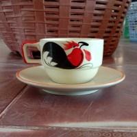 ชุดกาแฟจานรองตราไก่ 5.5 Oz.