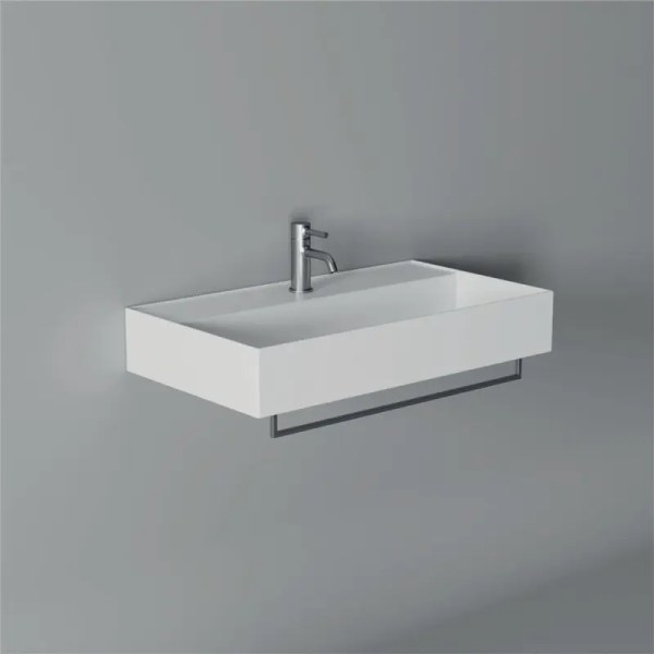 Alice Ceramica Serie Hide Square Lavabo 80x45