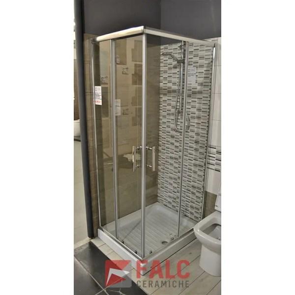 Box doccia cristallo trasparente 6mm