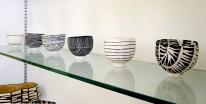 Priscilla Mouritzen pinch bowls row