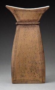 Jim Bridgeman Ceramic Artist - Handbuilt Vase