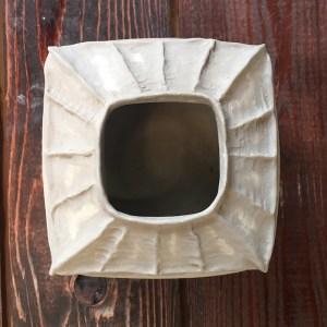 Ceramicscapes - Botanic Inspired Ceramic Work - Bushy Seedbox Vase
