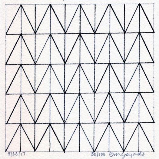 Cindy Guajardo - 100 Days of Pattern 50