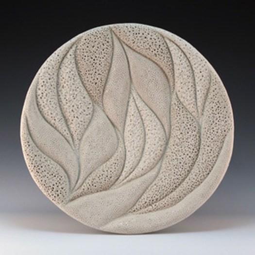 Judi Tavill Ceramics - Coral Foliage Francis Wall Piece