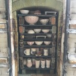 9 - Soda Kiln is loaded - kiln packs are visible