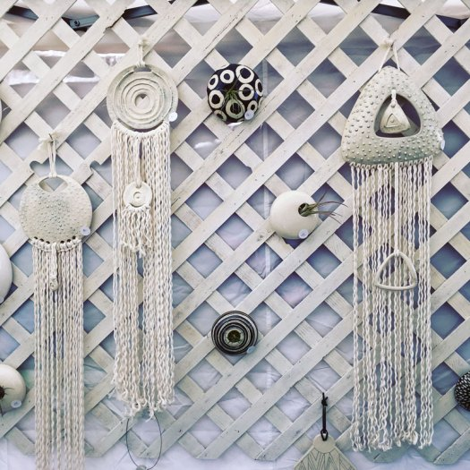 CeramicScapes - Wall Pods and New Ceramic Wall Hangings