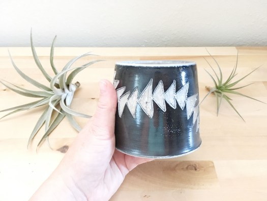 Ceramicscapes Planter - Does this pattern look familiar?