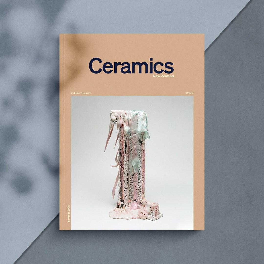 Ceramics NZ Volume 3 Issue 2 cover