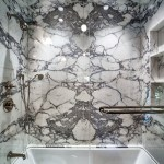 Bathroom Tile Remodeling Marble Bookmatching Palm Beach 6