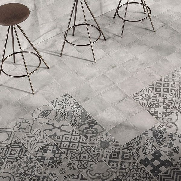 how do you mix and match floor tiles