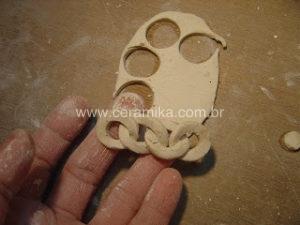 modelando porcelana