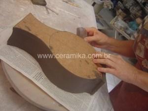 vasos para testes de esmaltes celadon