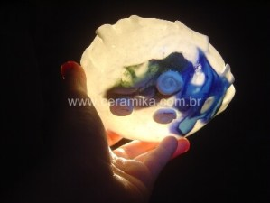 porcelana translucida