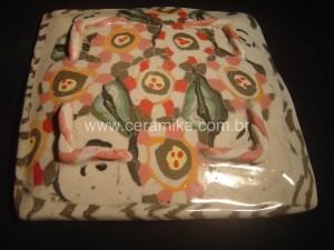 porcelana colorida com oxidos