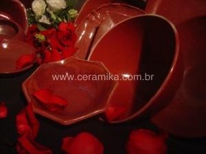 vidrados ceramicos vermelhos de redução