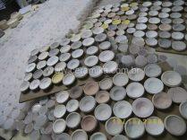 esmaltes ceramicos aplicados para teste