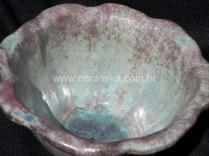 cristais no esmalte ceramico
