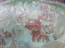 cristais em ceramica