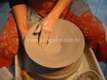 modelagem de um bowl em torno eletrico