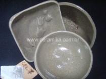testes de esmalte ceramico celadon