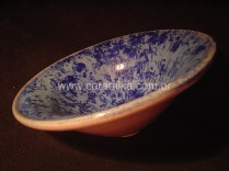 bowl com vidrado cristalino