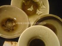 variadas massas para esmalte celadon