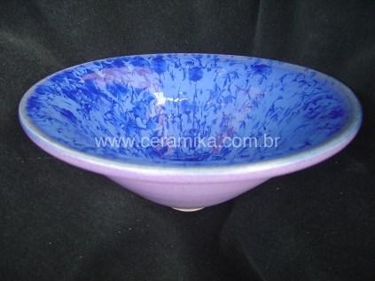 bowl lavanda com cristais