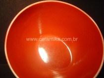 esmalte vermelho bowl oval