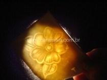 porcelana translucida testes de lithophanes