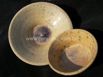 esmalte ceramico com cristalizações