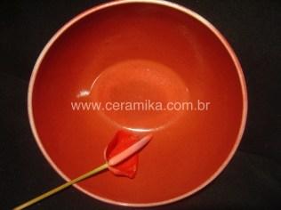 ceramica vermelhos de redução