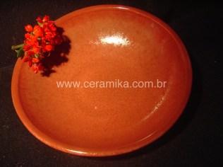ceramica vermelha em redução