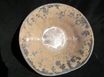 peça ceramica com macro cristalizações
