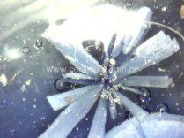 cristalização em curva controlada